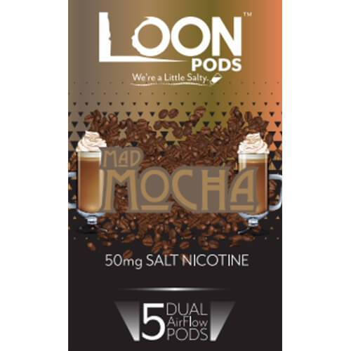 Juul Pods by Loon - Mad Mocha - 5 Pack - Refill Pods